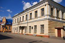Юго-западный угол дворца Контрактов в Дубно