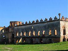 Дворец Меджибожского замка