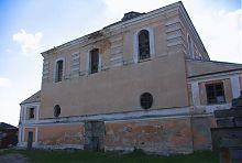 Південний фасад дубенського іудейського храму