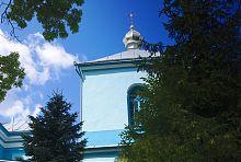 Колокольня клеванской церкви Рождества Христова