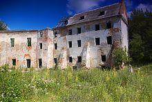Северо-восточный корпус клеванского замка Чарторыйских
