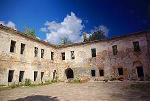 Северный корпус клеванского замка Чарторыйских