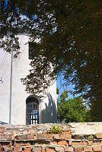 Апсида центрального нефа клеванского Благовещенского католического храма