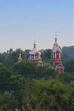 Купола корецкой церкви святой Параскевы Пятницы