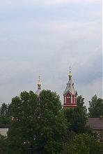 Колокольня Пятницкого храма в Корце