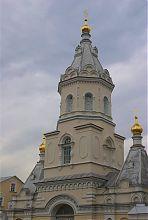 Колокольня Свято-Троицкой обители Корца