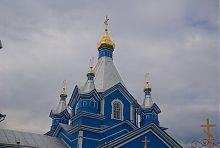 Центральный купол корецкой Космодамианской церкви