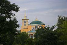 Колокольня и купол корецкого Николаевского собора