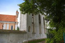 Колокольня костела святого Антония и Успения Девы Марии в Корце