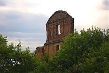 Внешний фасад стены корецкого дворца Чарторыйских