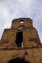 Внутренний фасад надвратной башни корецкой крепости