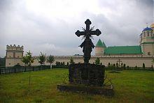 Пам'ятний хрест на честь 600-річчя першої згадки Межиріча