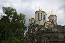 Східний фасад Богоявленського собору Острозького замку