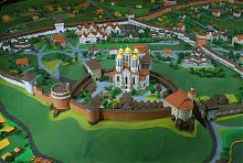 Реконструкция Богоявленского собора времен князей Острожских