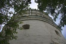 Напольная сторона Луцких ворот в Остроге