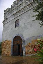 Внутрішньоміський (тильний) бік острозької Луцької вежі