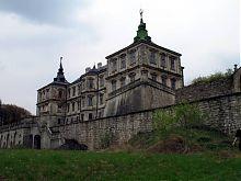 Северная терраса Подгорецкого замка