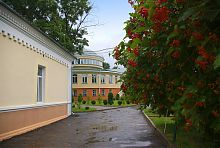 Внутренний двор Острожского университета