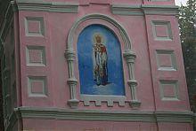 Східний фасад острозької каплиці Святого Миколая