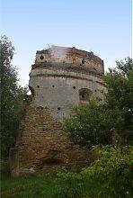 Напольная часть Татарской башни Острога
