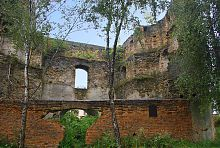 Внутрішній вид надбрамної вежі Татарської слободи в Острозі