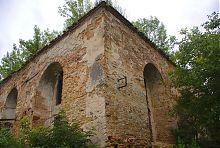 Південно-східний кут синагоги Махарши в Острозі