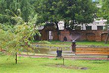 Стена капуцинского монастырского сада в Остроге