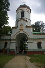 Надбрамна вежа-дзвіниця острозької фортеці