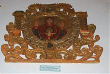 """Ікона """"Богоматір знамення"""" Острозького краєзнавчого музею"""