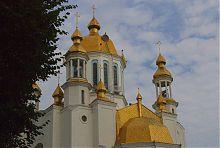 Куполи рівненського Свято-Покровського собору
