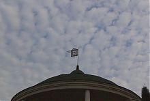 Флюгер з гербом князів Несвизьких пам'ятника Марії Рівненської