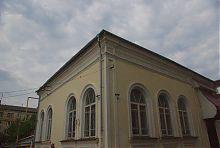 Північно-східний кут синагоги в Рівному