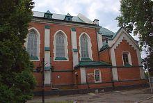 Северный неф костела св. Антония в Ровно