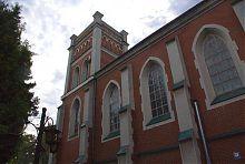 Северный фасад зала органной и камерной музыки Ровно