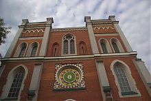 Центральный фасад костела святого Антония в Ровно