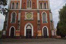 Центральный вход ровненского органного зала
