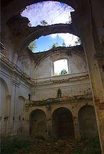 Неф тайкурского костела святого Лаврентия