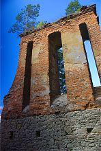 Колокольня тайкурского костельного комплекса святого Лавретия