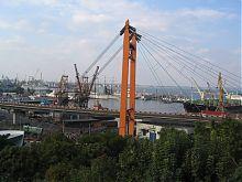 Вид на порт с Приморского бульвара Одессы