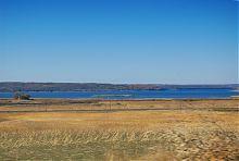 Остров на Оскольском водохранилище