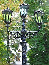 Ліхтар на Приморському бульварі Одеси
