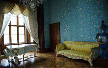 Голубая гостиная Алупкинского Воронцовского дворца