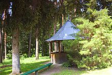 Беседка в Натальевском парке