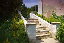 Сходи Пархомовського парку Подгорічані