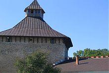 Вершина рыцарской башни Меджибожа