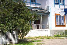 Бічний ганок будинку К. Малевича в Пархомівці
