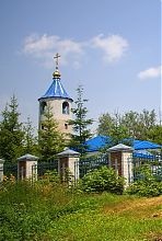 Дзвіниця пархомівської церкви Покрова Богородиці