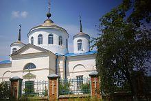 Южная ось трансепта Покровского храма