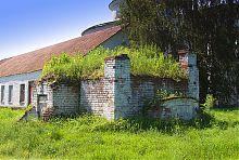 Вход в подземелье усадьбы Куликовских в Ракитном
