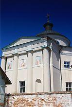 Восточный (апсидный) ризалит ракитнянского Свято-Михайловского храма